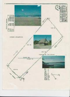 Beach Front property for sale Tela