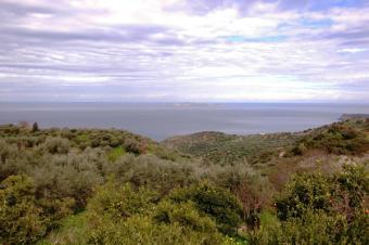 Plot glorious sea view Crete Roussa Ekklisia Sitia