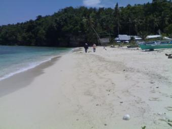 White Sand Beach in Samal Island Davao
