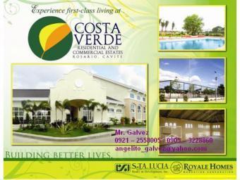 COSTA VERDE LOT FOR SALE Cavite