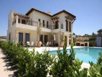 Lovely mountain & sea view villa Hapotami Paphos