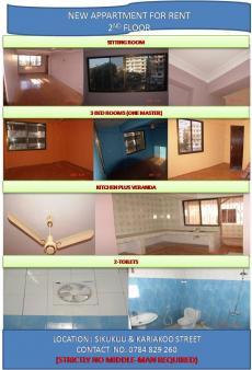 3 BEDROOMS APPARTMENT Dar Es Salaam