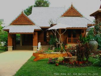 Thai Lanna Teak Home to Business Chiang Mai