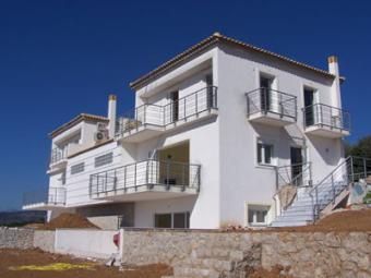 Villas with land & Sea Views Drepano