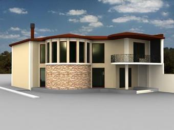 Fashion design residential house Tbilisi
