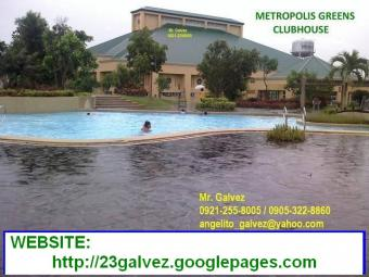 METROPOLIS GREENS LOT FOR SALE Cavite