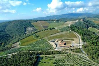 Important Wine Estate In Tuscany Siena
