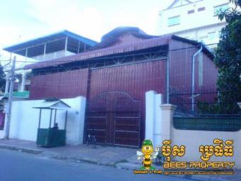 WAREHOUSE FOR RENT, LOCATED BOEN Phnom Penh