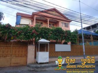 BIG VILLA FOR RENT, 13 BEDROOMS, Phnom Penh