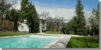 France hol villa Provence swpool Ansouis