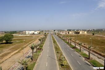 Commercial Plot in Bahria Town. Lahore