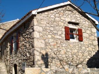 stone mediterranian house CRO Isl. Krk