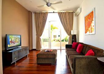 opulent apartment in 93 lo duc Ha Noi