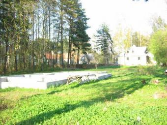 Land with foundation Jurmala