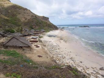 Are Guling - Land south Lombok Sekotong
