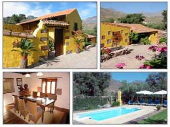 La Labranza & El Pajar Cottages Santa Lucia De Tirajana   Gran Canaria   Canary Islands   Spain