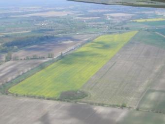 50 Ha big plot of land business Gyor