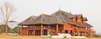 RARE GIANT TEAK CASTLE IN CHIANG Chiang Mai