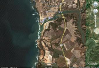 Land for construction front sea Algarve