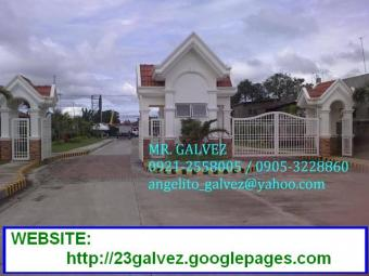 PONTE VERDE RES`L LOT FOR SALE Sto. Tomas, Batangas