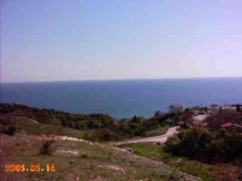 Corner plot with incredible sea Balchik