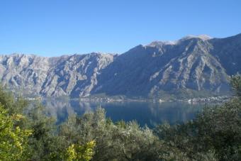 Exellent Plot, Bay from Kotor Kotor