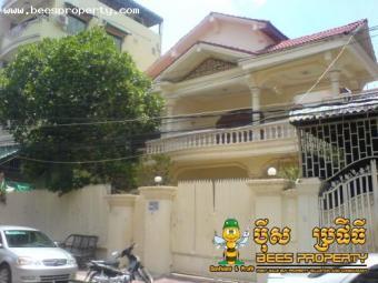THAI STYLE VILLA FOR RENT BKKII Phnom Penh