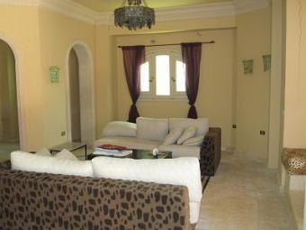 Fully furnished half Villa Mubarak 6, Hurghada
