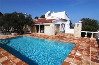 Villa with fantastic sea view Pedreguer