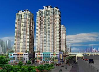 Living in luxury condo Makati
