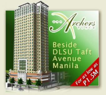 ONE ARCHERS PLACE Taft, Manila Taft, Manila