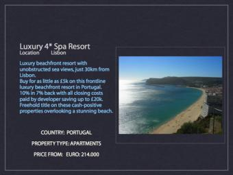 Luxury 4* Spa Resort Lisbon