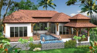 House for sale, pool villas Nai Harn