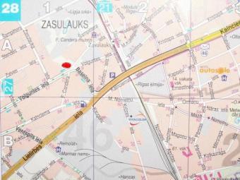 land plot excellent location Riga