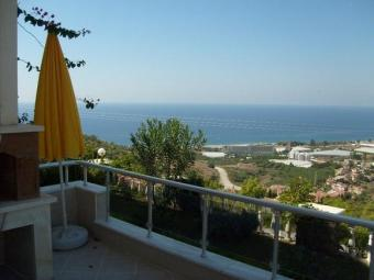Superb mountain & sea view villa Kargicak Antalya