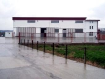 industrial plant with offices Banjaluka Laktasi