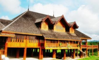 RARE GIANT TEAK CASTLE Chiang Mai