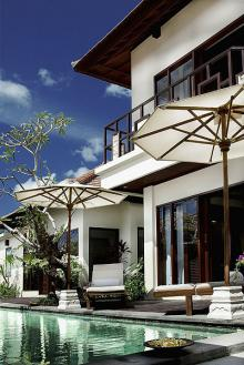4 villas cluster at oberoi Bali