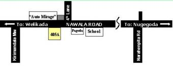 Road Map-Premises For Sale Rajagiriya