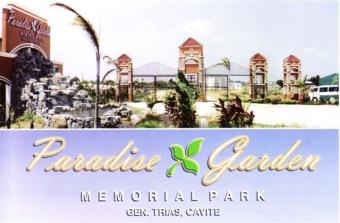 Memorial plots in EXCLUSIVE PARK General Trias
