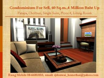 Condominium For Sell, Pattaya Pataya, Cholburi