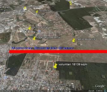 Land for sale Bucharest Voluntar Bucharest