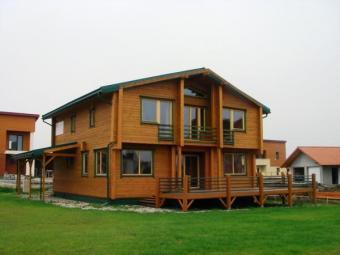 Exclusive log house for sale Vilnius