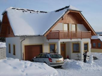 Luxury villas at the Lipno Lake South Bohemia