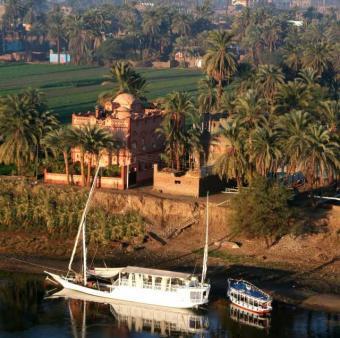 Luxor Nubian architecture villa Luxor
