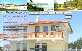 Luxury private 2007 BG villa Balchik