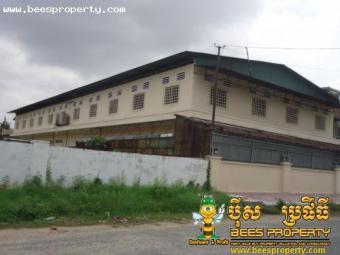 WAREHOUSE OR BUILDING FOR RENT L Phnom Penh