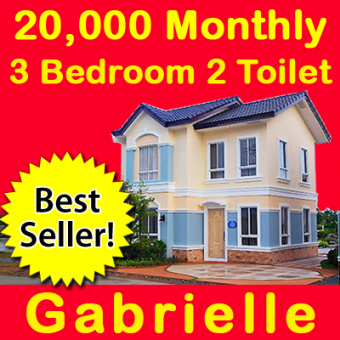 Gabrielle 3bed 2toilet 19K mthly Cavite