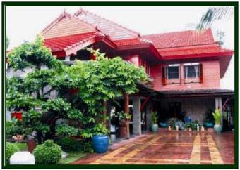 MODERN TEAKWOOD HOUSE FOR SALE Bangkok