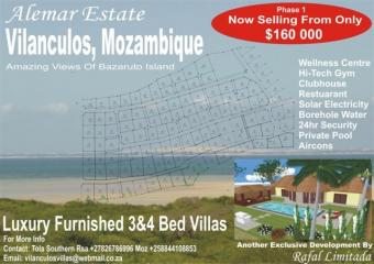 Luxury Furnished 3&4 Bed Villas Vilankulo